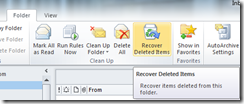 Outlook-recover-deleted-items