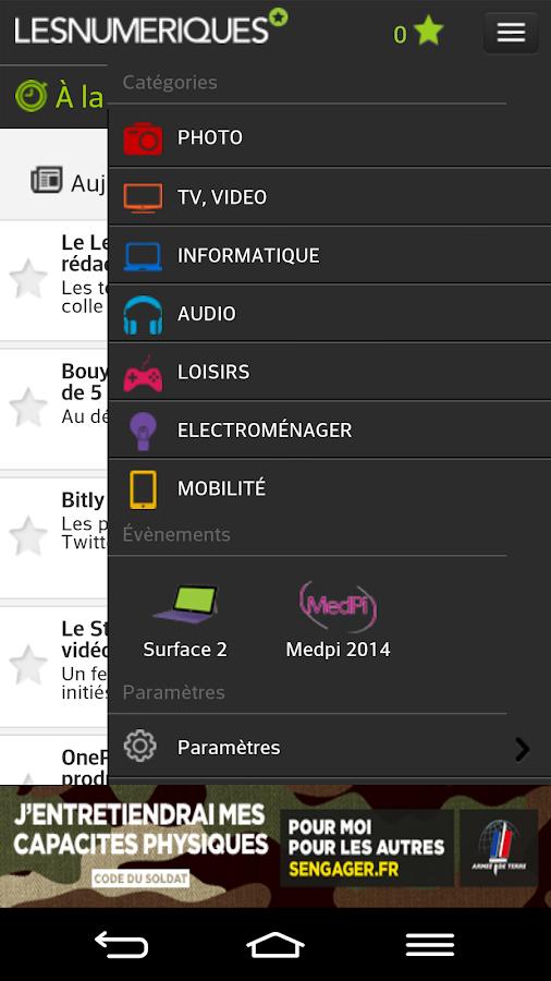 Les Numériques - screenshot