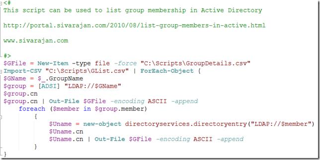 Ad Group Membership Report 110
