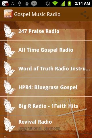 Gospel Music Radio Christian