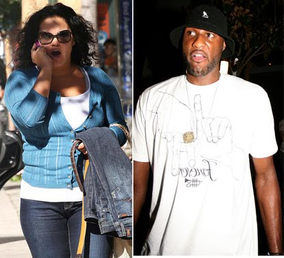 lamar odom's ex girlfriend liza morales picture