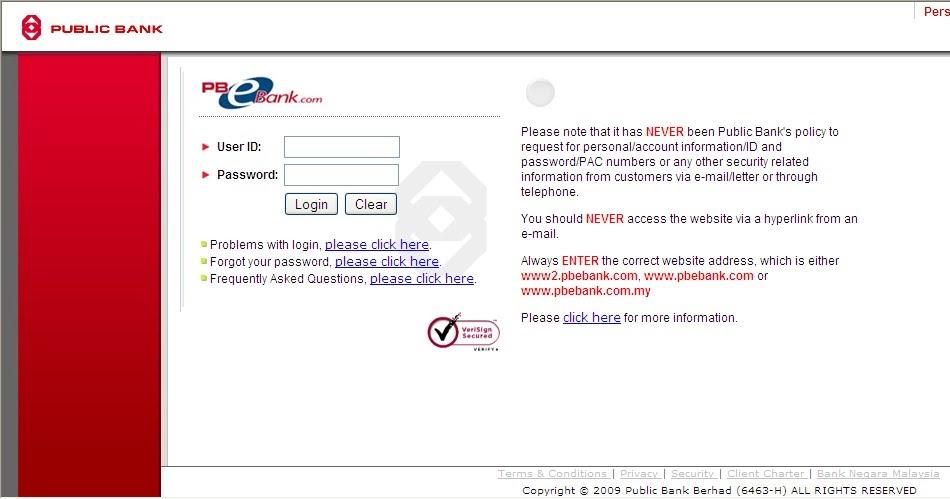 Pbe Login Cara Daftar Public Bank Online Banking
