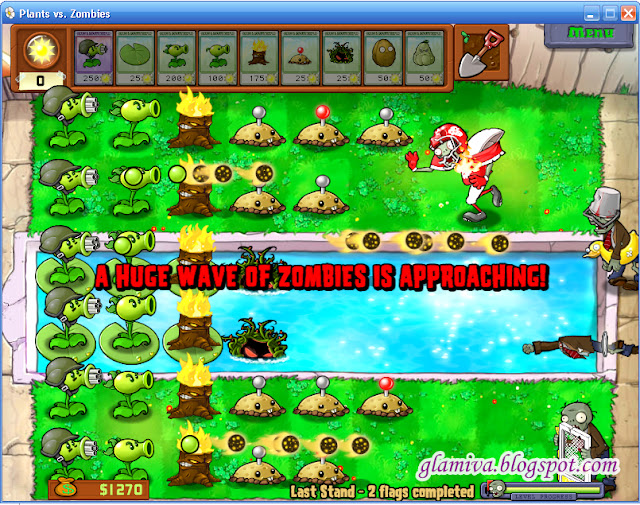 plants vz zombies last stand easy strategy