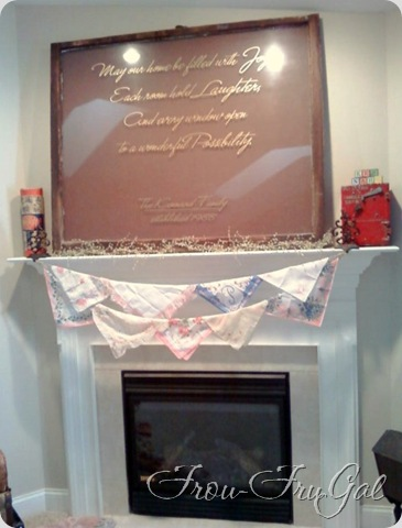 Banner & Fireplace