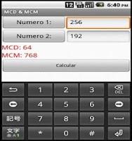 Screenshot of GCD & LCM