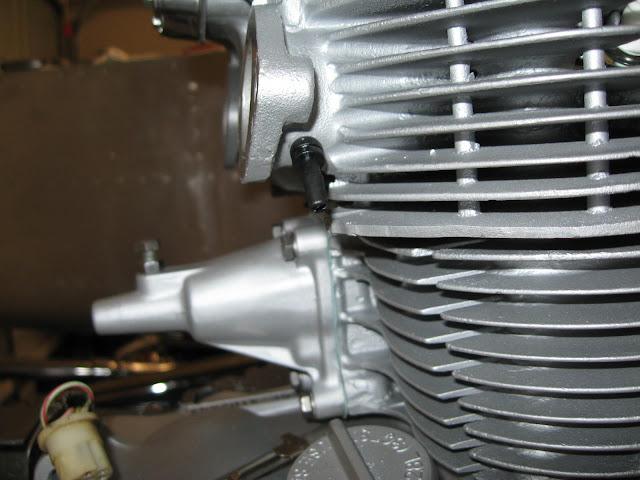 CB450 Carb Sync Port Installation