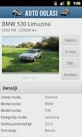 Screenshot of Auto Oglasi