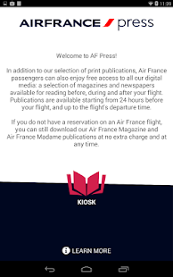 Air France Press - screenshot thumbnail