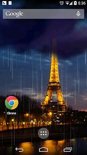 浪漫巴黎閃電壁紙