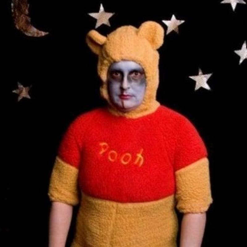 Disfraz de Winnie the Pooh accidentado