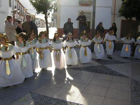 disfraz escolar de egipcio