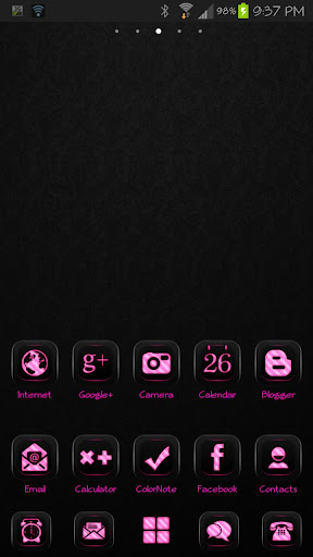 ICON PACK FadedHotPink