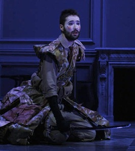 Christophe Dumaux in the title role of Händel's ORLANDO at the Théâtre Municipal de Tourcoing