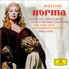 Bellini: NORMA (Beverly Sills, Shirley Verrett; James Levine - DGG)