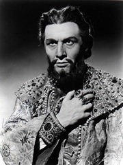 Italian bass Cesare Siepi (1923 - 2010) as Boris Godunov