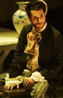 Simon Lobelson as the Drunken Poet in Henry Purcell's THE FAIRY QUEEN with Pinchgut Opera