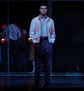 Jonathan Blalock as Howard Boucher in Jake Heggie's DEAD MAN WALKING, Fort Worth Opera, 2009 [Photo courtesy of Mr. Blalock]