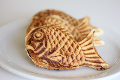 Taiyaki with nutella