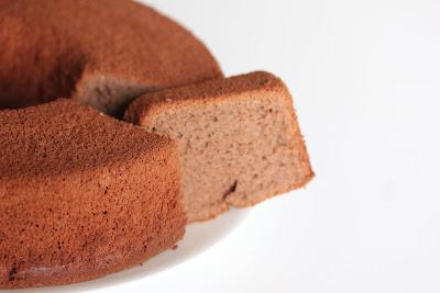 close-up photo of chocolate sponge cake