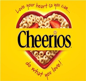 logo of cheerios do what you love contest