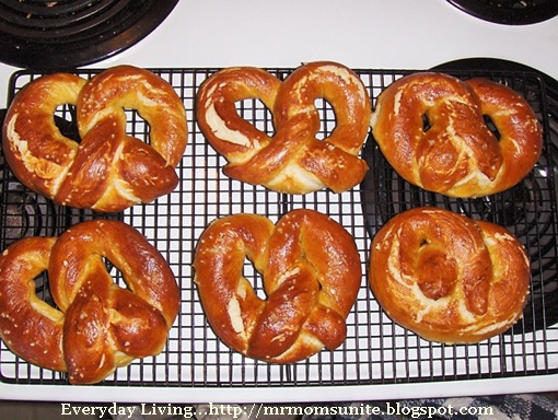 photo of my pretzels