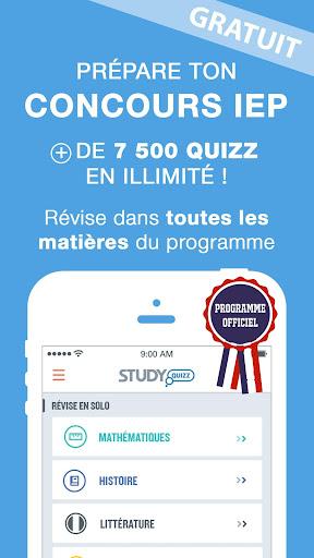 Concours IEP Study Quizz
