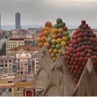 Sagrada Familia en Barcelona decoracion-y-color-en-basilica-sagrada-familia