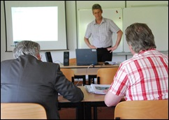 20 mei 2010: Enno Meijers presenteert zijn thesis.