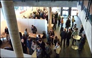 Veel belangstelling voor de 'best practices'in de tentoonstellingsruimte