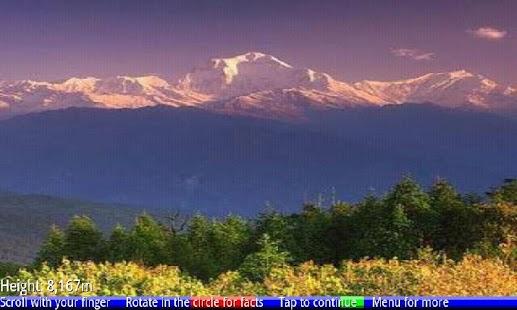 Top 10 Highest Mountains 1 FRE- screenshot thumbnail