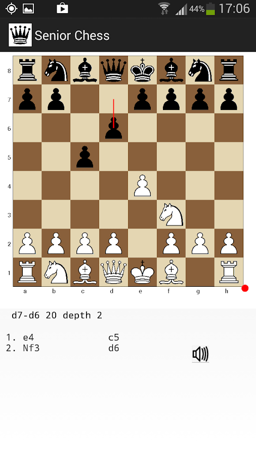 Senior Chess- screenshot