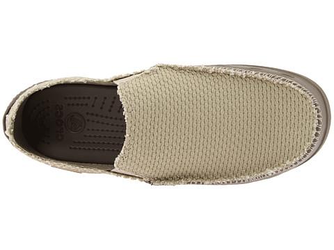new styles 53aa3 28c67 Crocs Tela Noce Tideline / Naturale:Scarpa mondo