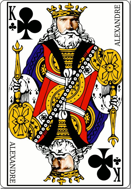 Dix valet dame roi poker room