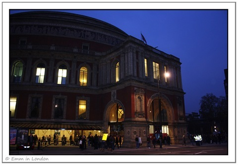 The Entrance to the Royal Albert Hall