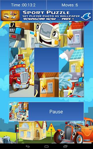 【免費解謎App】交通運輸卡通拼圖-APP點子