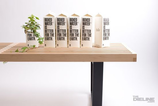Boxed water is better for the Earth