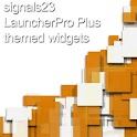 LauncherPro Plus s23 BW logo