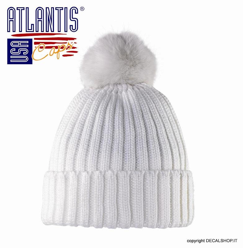 VITAMIN FUR NERO cappello Pelliccia Lapin BELEN cuffia. 14.90EUR. Ha la  particolarità del pompon in lapin questa simpatica cuffia con risvolto 1508334dda30
