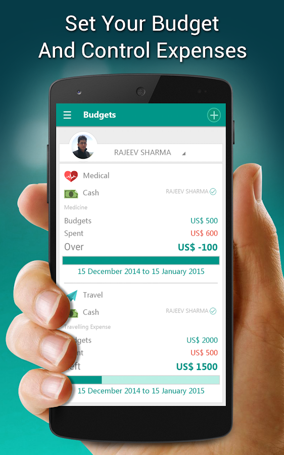 Money Manager Personal finance - screenshot