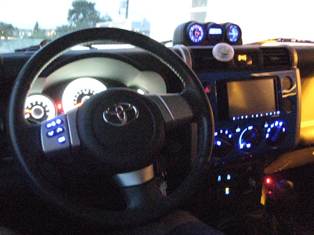 Used Fj Cruiser >> DIY LED Dash Swap: Gauge Cluster, AC, and Compass - Page ...