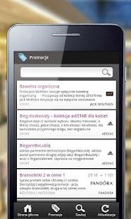 Galeria Krakowska - mobile app- screenshot thumbnail