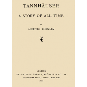 Tanhauser A Story Of All Time Cover