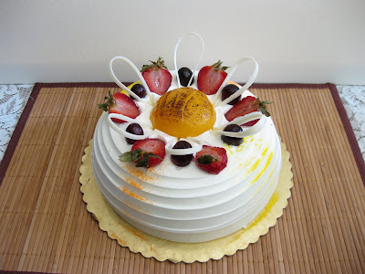 Ranch 99 Bakery- Fresh mango birthday cake