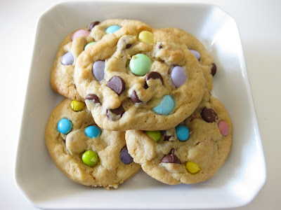 Spring Time Chocolate Chip Cookies