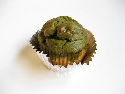 Matcha Green Tea and White Cupcakes