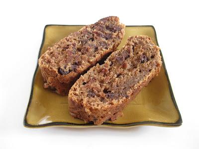 Chocolate Banana Nut Bread