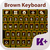 Brown Keyboard Theme APK for iPhone