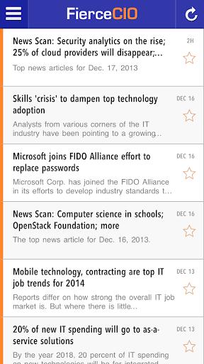 【免費新聞App】FierceCIO-APP點子