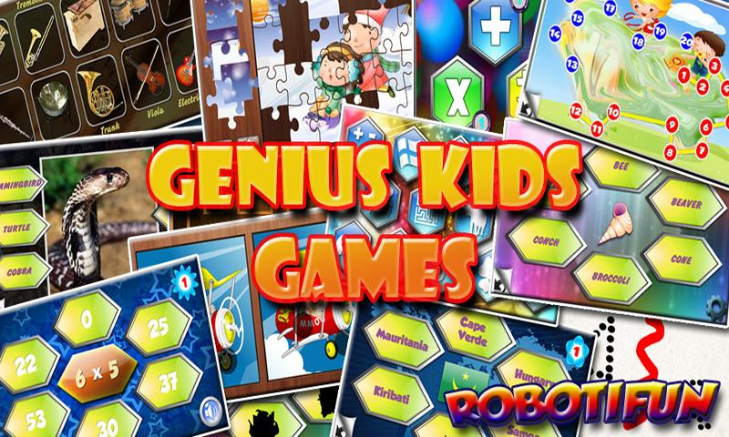 Genius Kids Games Free - screenshot