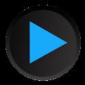 Poweramp Holo ICS Skin logo